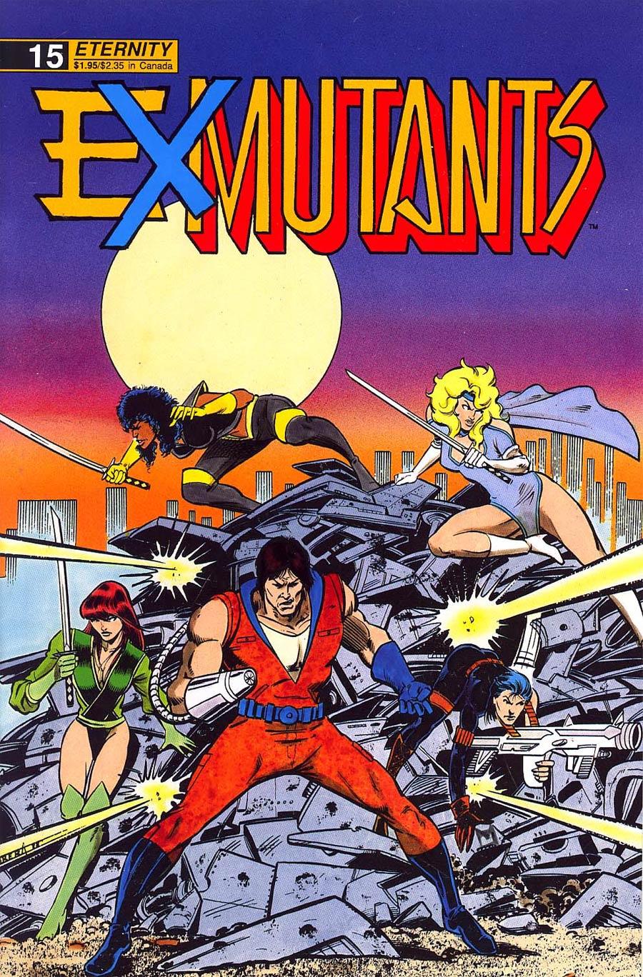 Ex-Mutants Shattered Earth Chronicles #15