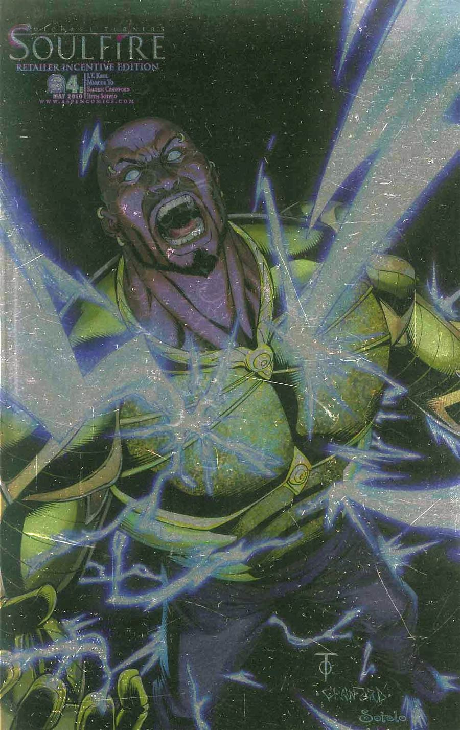 Soulfire Vol 2 #4 Cover E Incentive Marcus To Electrified Variant Cover