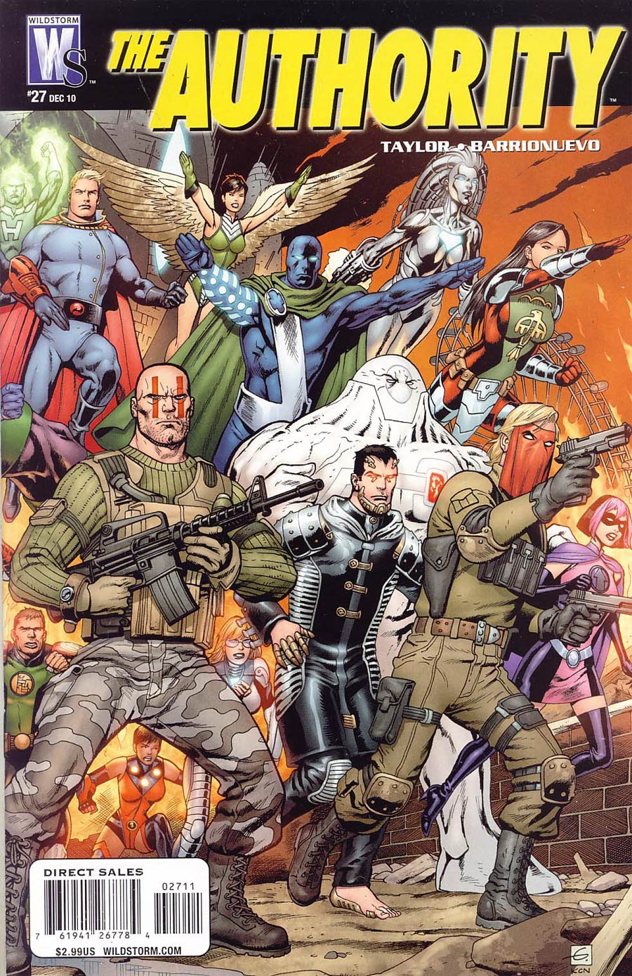 Authority Vol 5 #27 Cover A Regular Dave Gibbons Cover