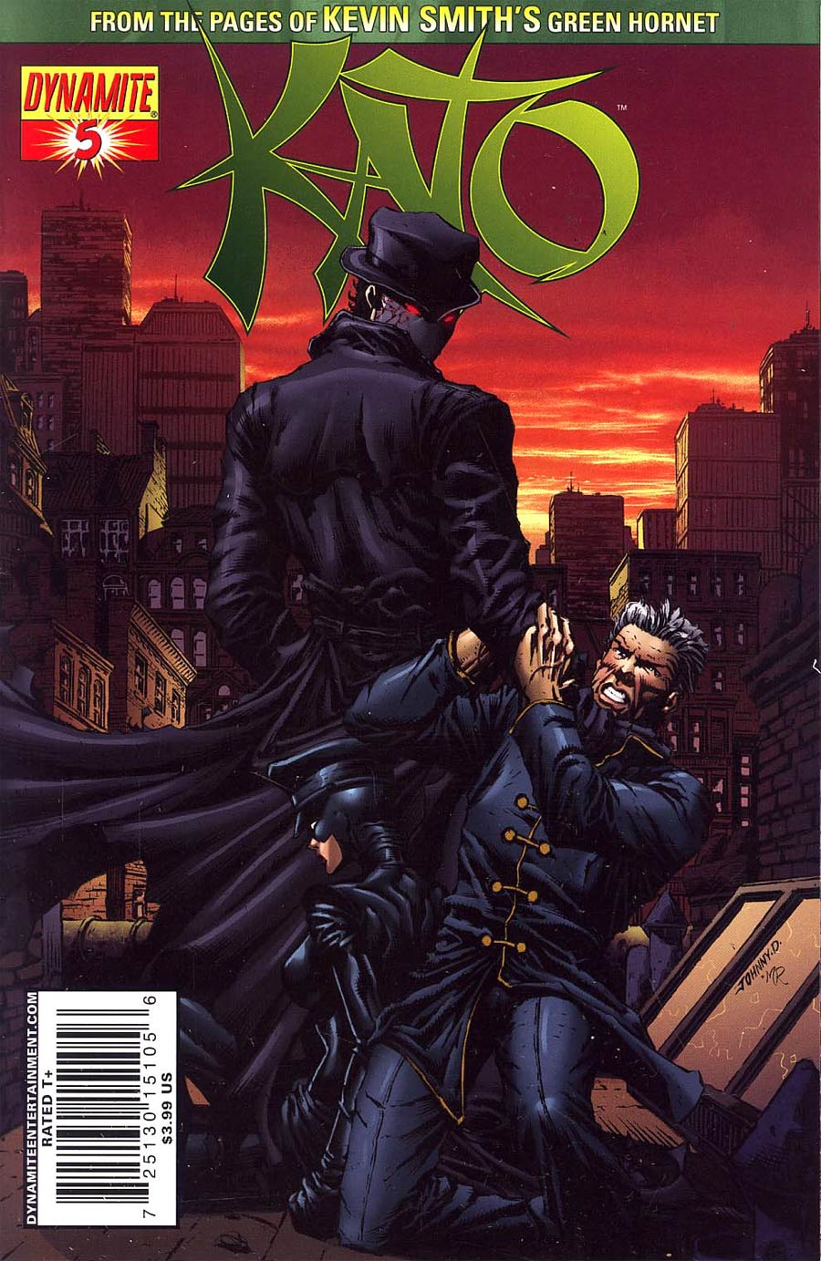 Kevin Smiths Kato #5 Cover C Johnny Desjardins Cover