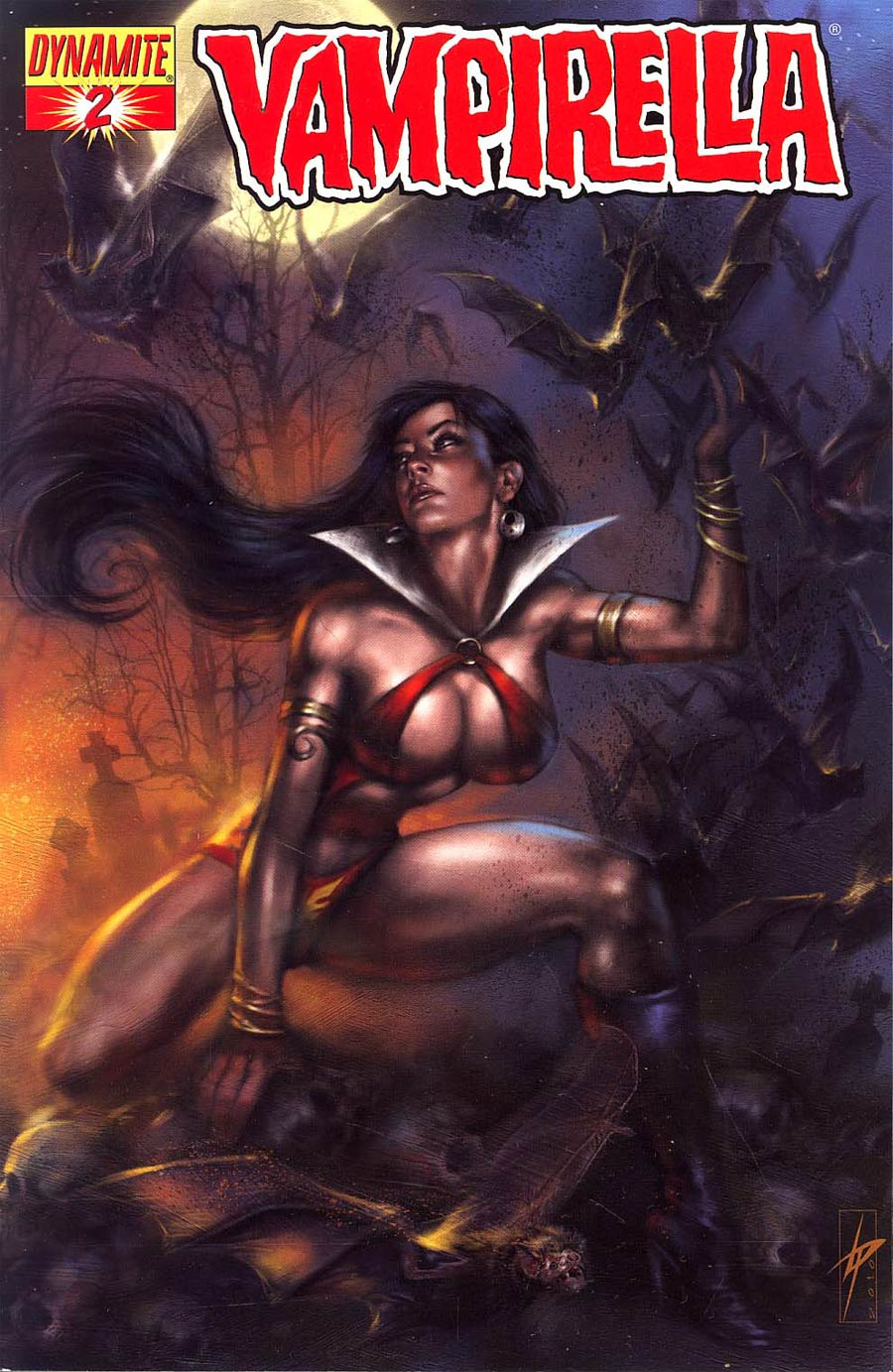 Vampirella Vol 4 #2 Regular Lucio Parrillo Cover