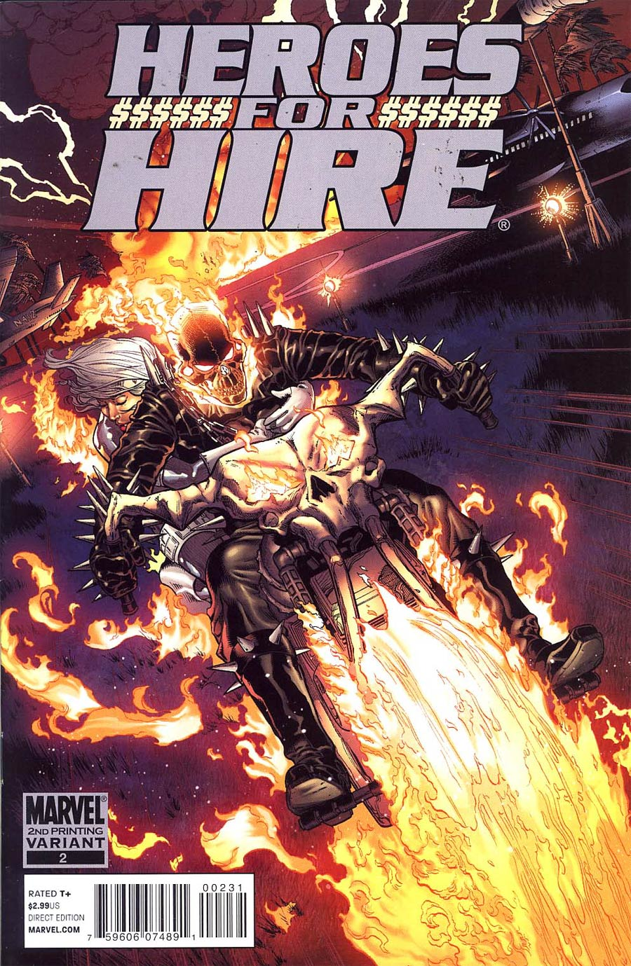 Heroes For Hire Vol 3 #2 Cover C 2nd Ptg Brad Walker Variant Cover