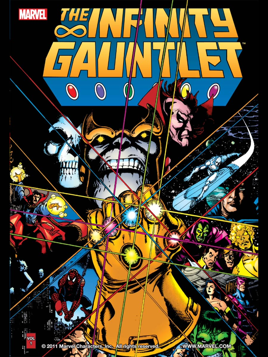 Infinity Gauntlet TP New Printing