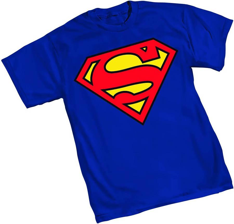 Superman 52 Symbol T-Shirt Large