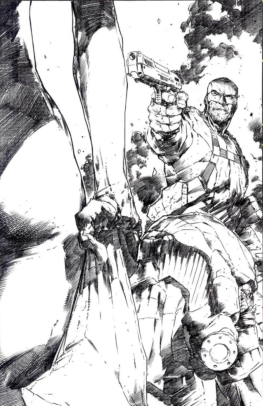 Extermination (BOOM Studios) #2 Cover E Incentive Trevor Hairsine  Virgin Sketch Cover