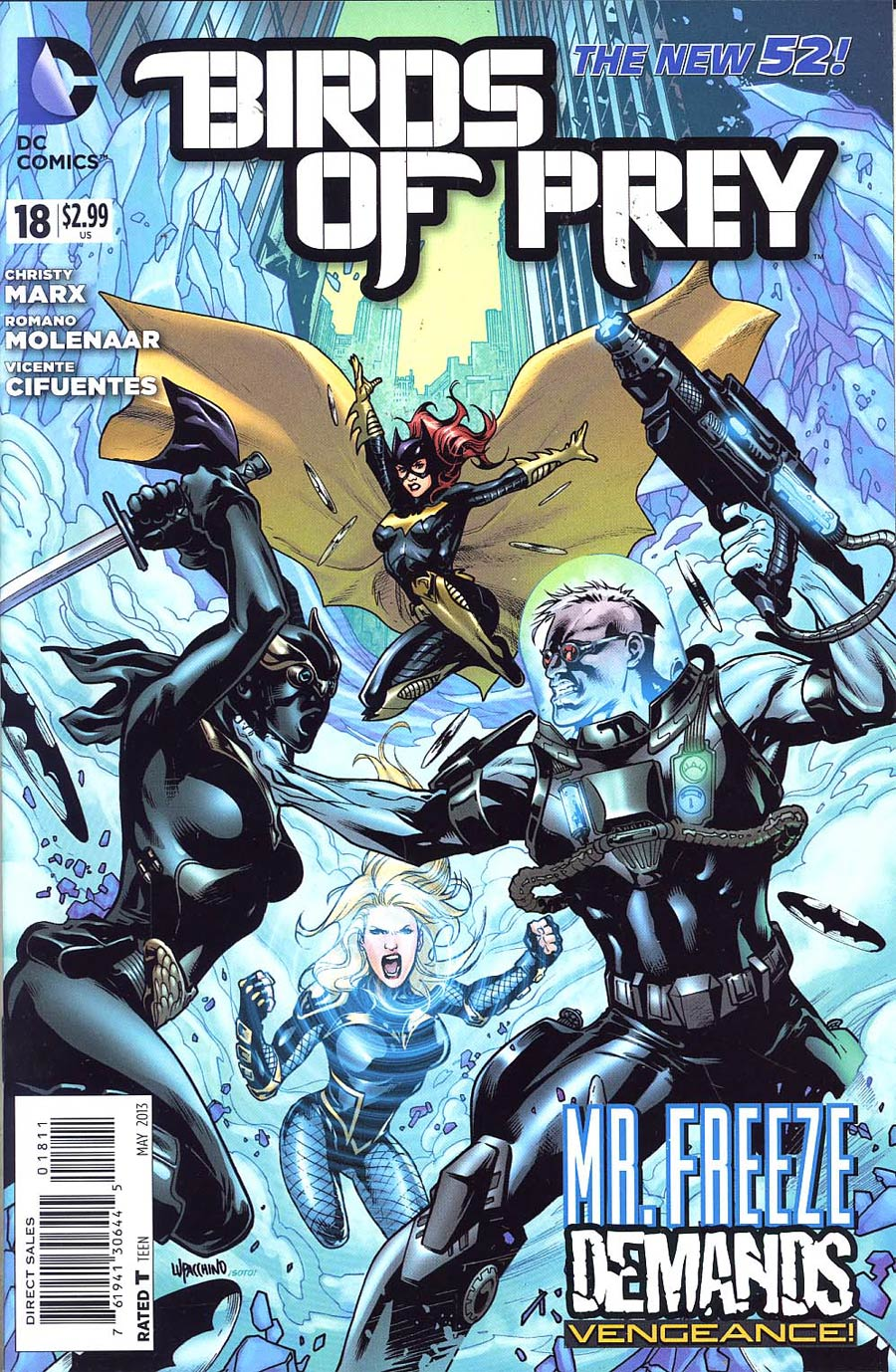 Birds Of Prey Vol 3 #18