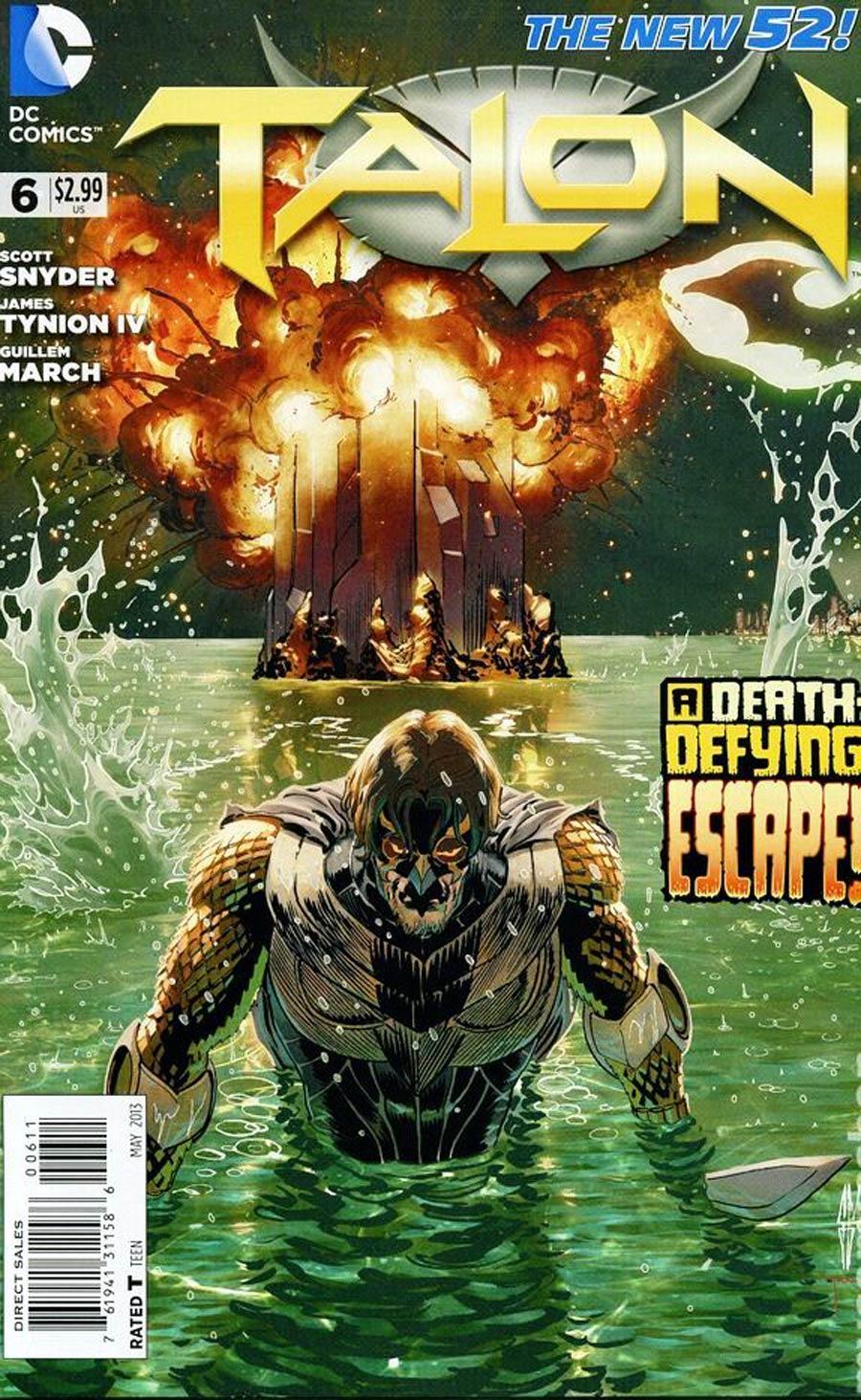 Talon #6 Cover A Regular Guillem March Cover