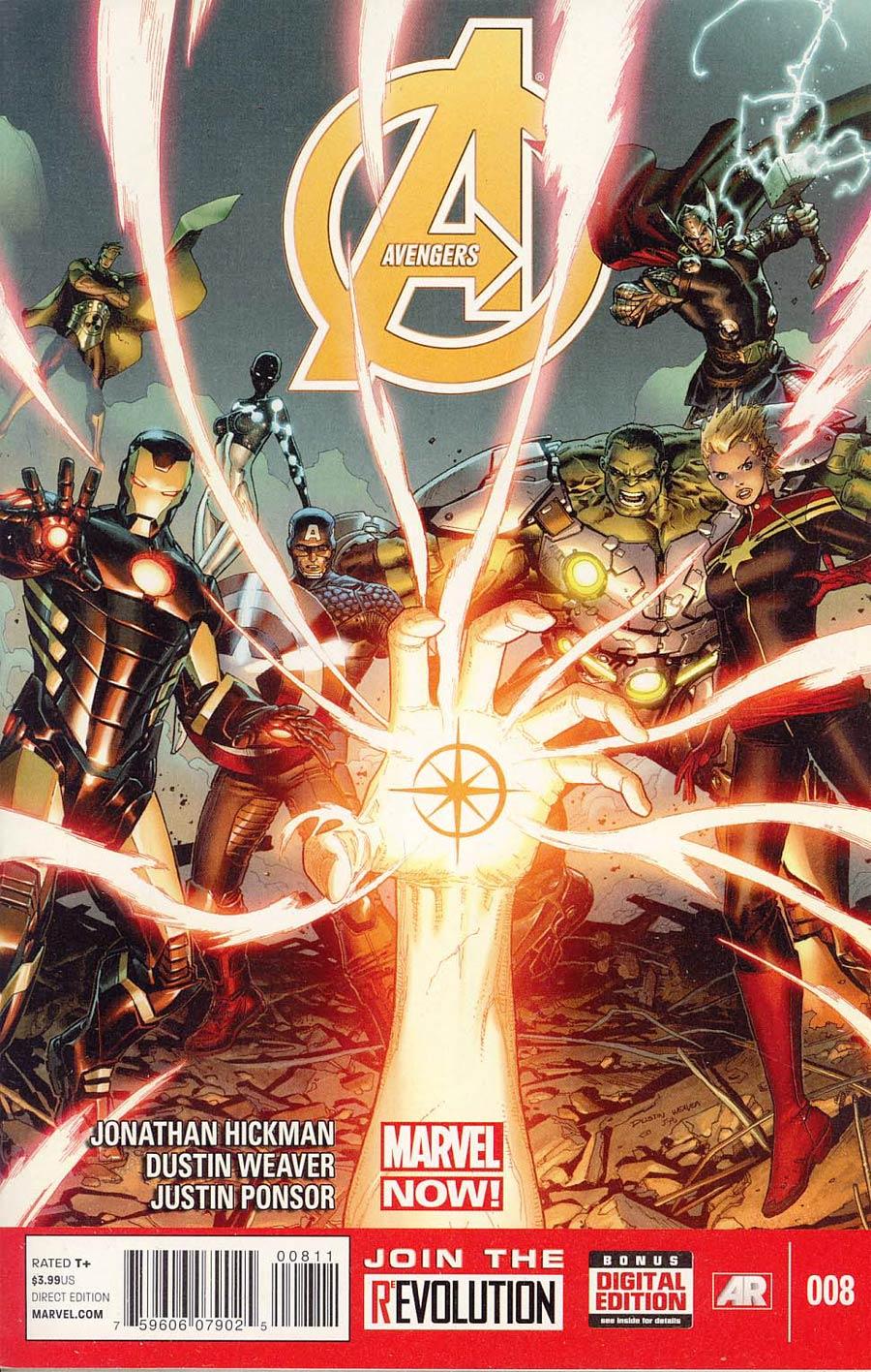Avengers Vol 5 #8 Cover A Regular Dustin Weaver Cover