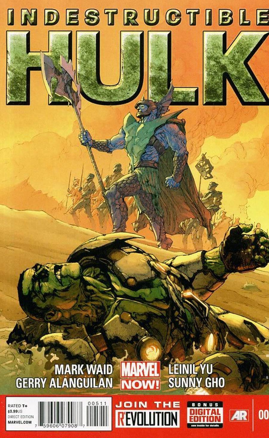 Indestructible Hulk #5 Regular Leinil Francis Yu Cover