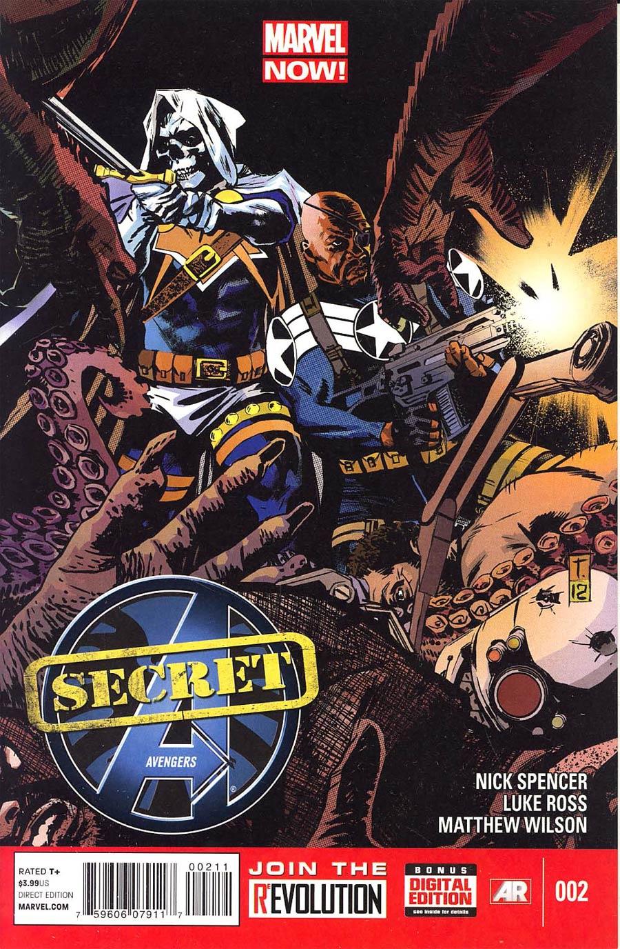 Secret Avengers Vol 2 #2 Regular Tomm Coker Cover
