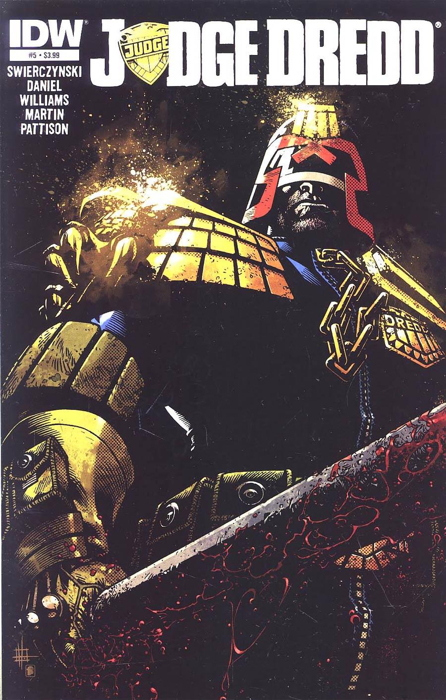 Judge Dredd Vol 4 #5 Regular Zach Howard Cover