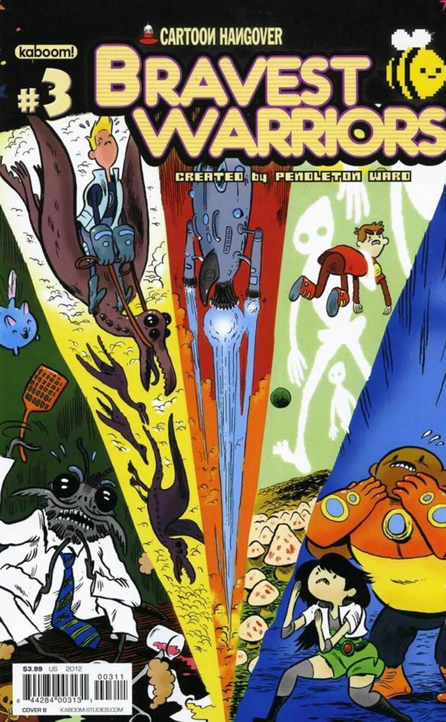 Bravest Warriors #3 Regular Cover B Aaron Renier