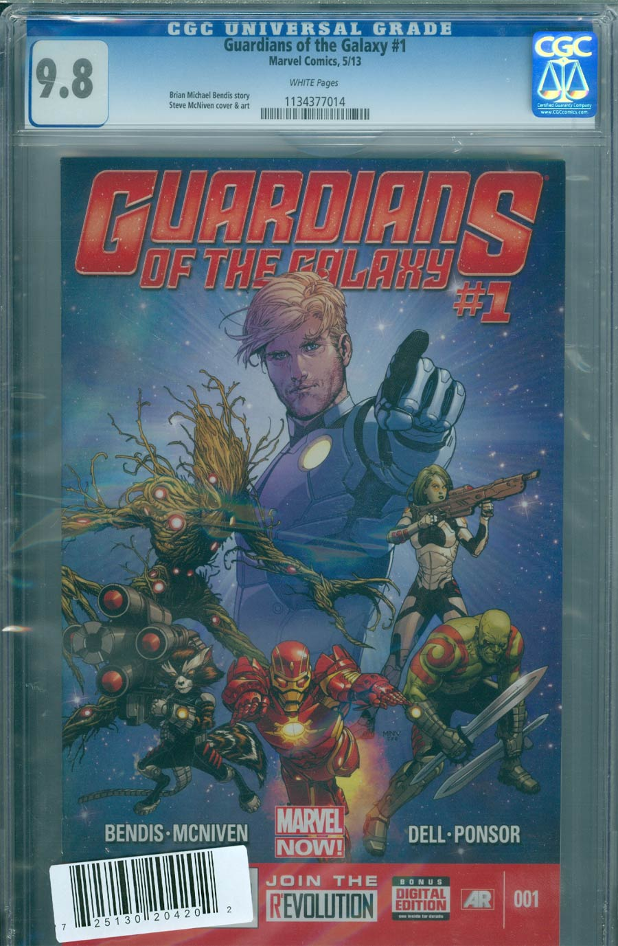 Guardians Of The Galaxy Vol 3 #1 Cover S CGC 9.8