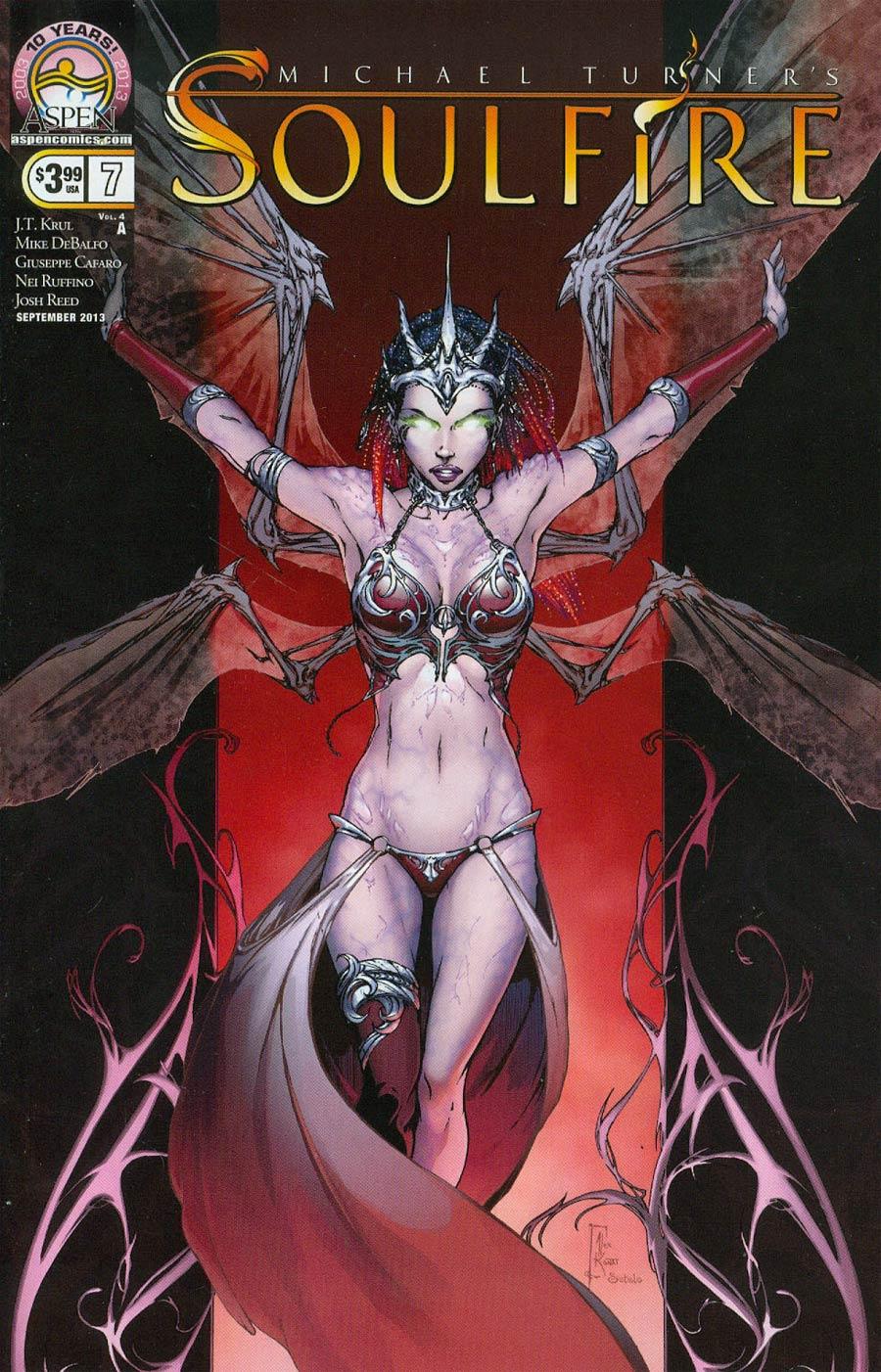 Soulfire Vol 4 #7 Cover A Alex Konat