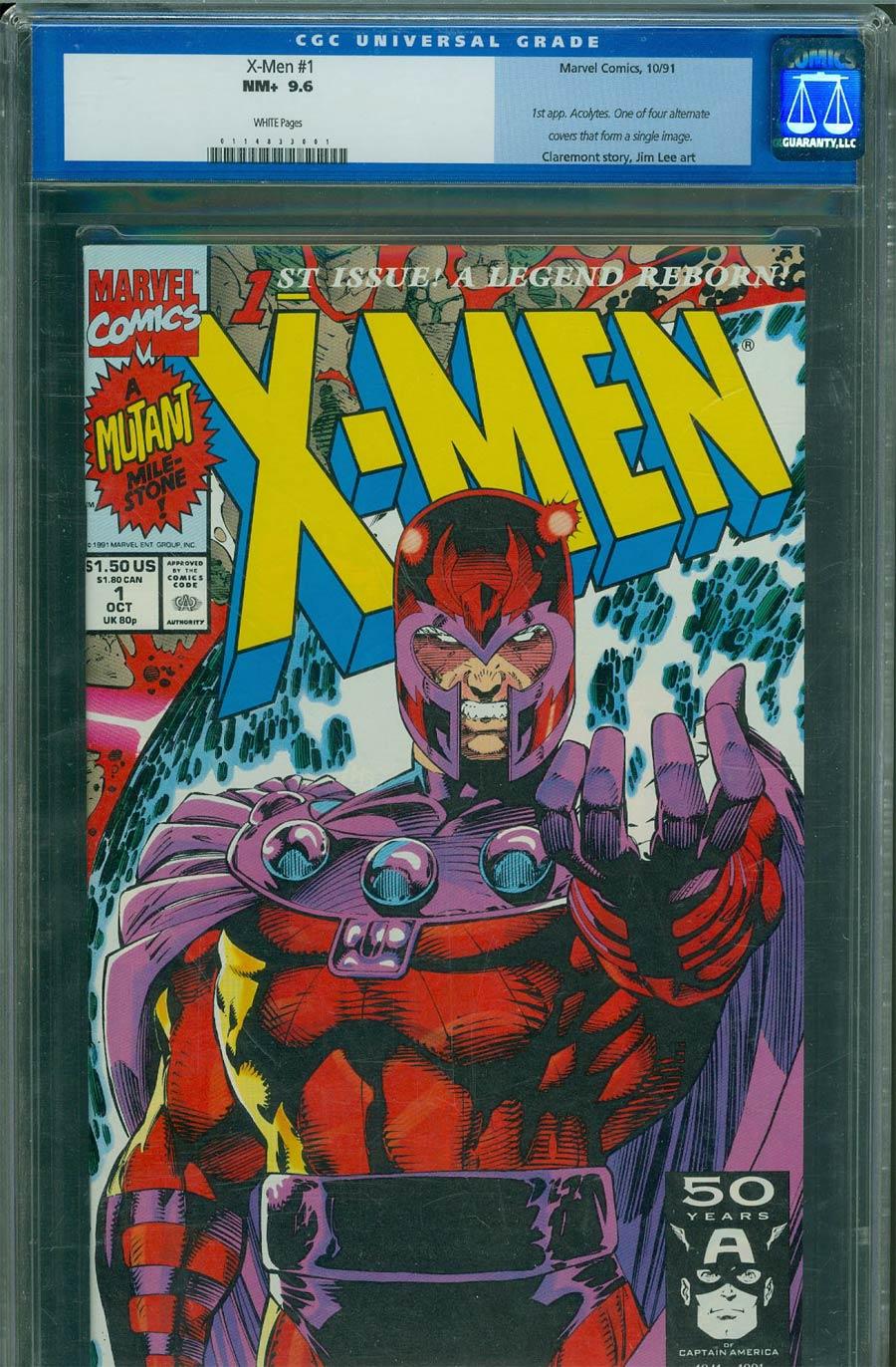 X-Men Vol 2 #1 Cover M Magneto CGC 9.6