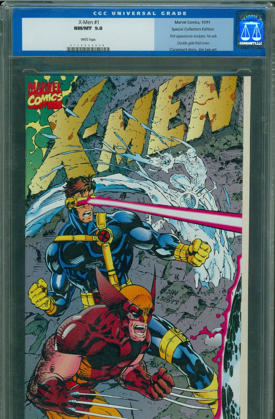 X-Men Vol 2 #1 Cover N Fold-Out CGC 9.8