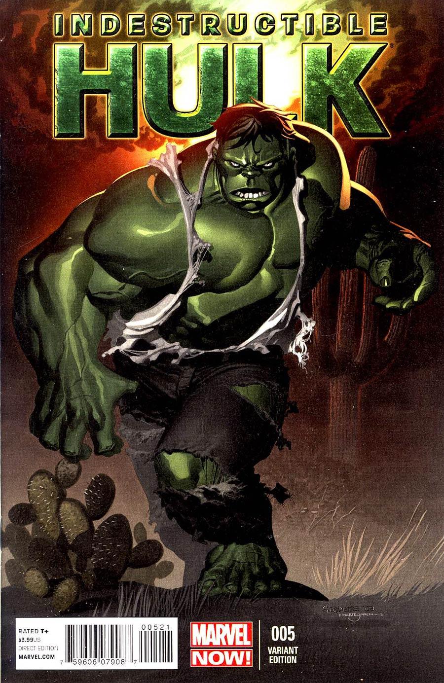Indestructible Hulk #5 Incentive Chris Stevens Variant Cover
