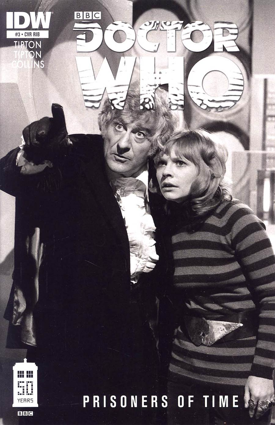 Doctor Who Prisoners Of Time #3 Cover C Incentive Third Doctor Photo Variant Cover