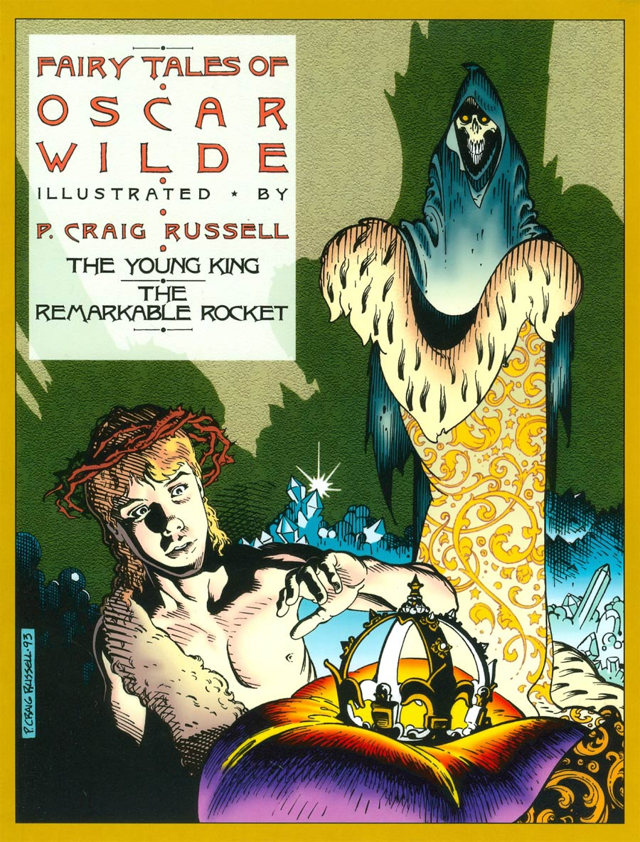 Fairy Tales Of Oscar Wilde Vol 2 The Young King And The Remarkable Rocket TP