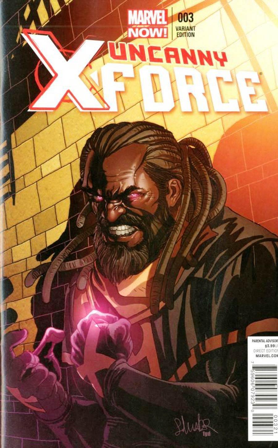 Uncanny X-Force Vol 2 #3 Cover B Incentive Salvador Larroca Variant Cover