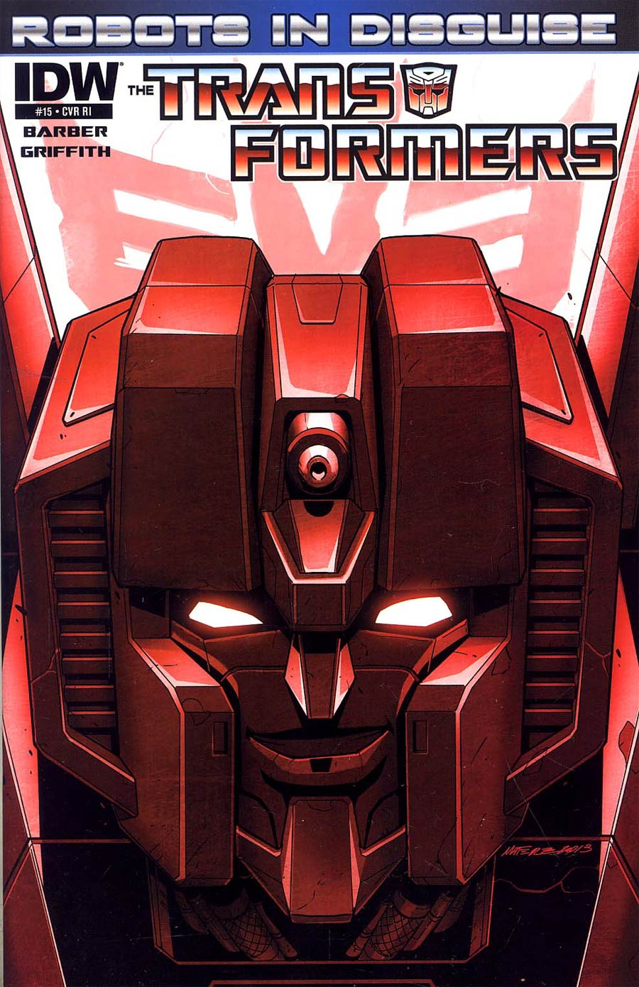 Transformers Robots In Disguise #15 Incentive Marcelo Matere Variant Cover