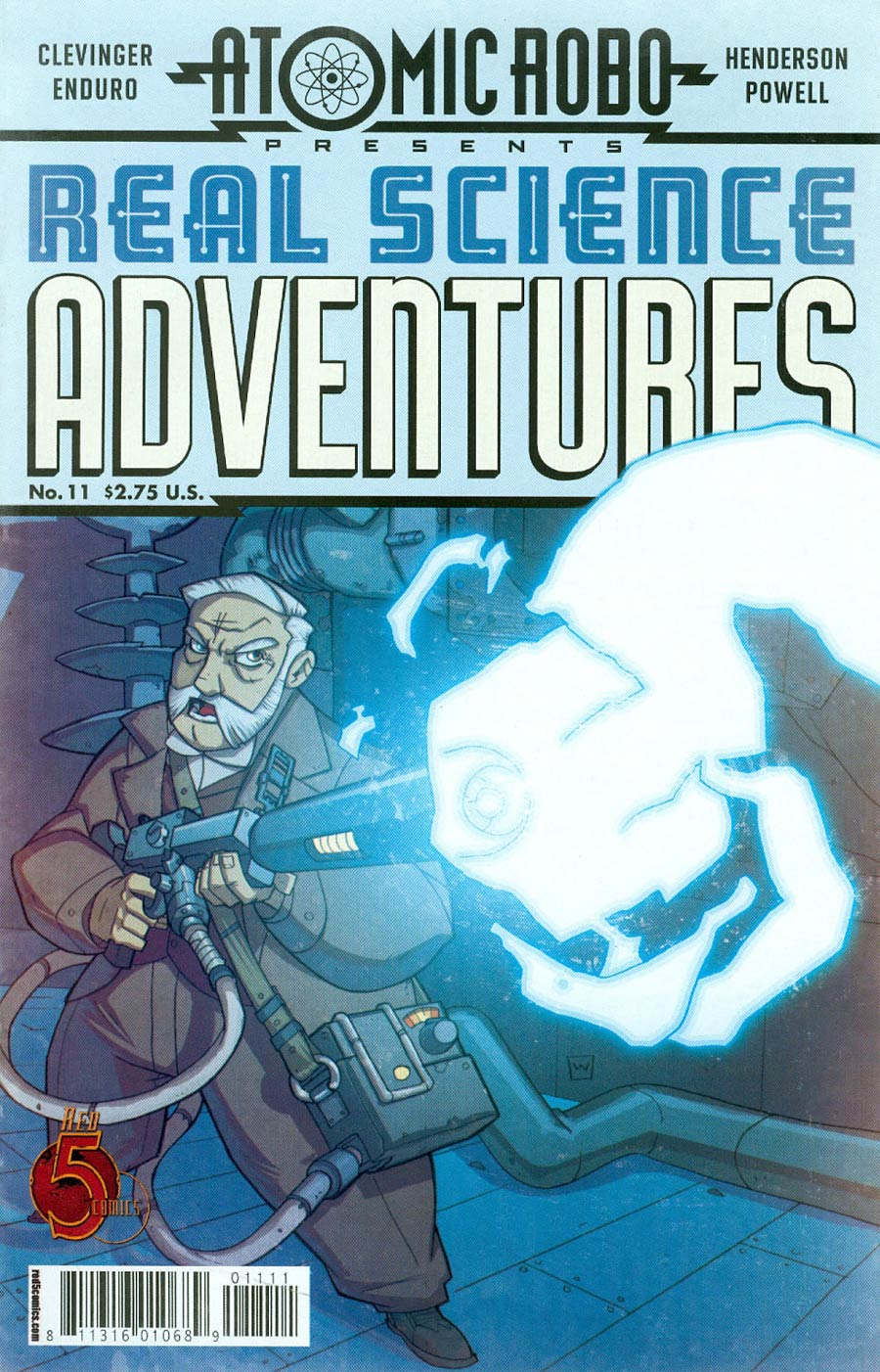 Atomic Robo Real Science Adventures #11