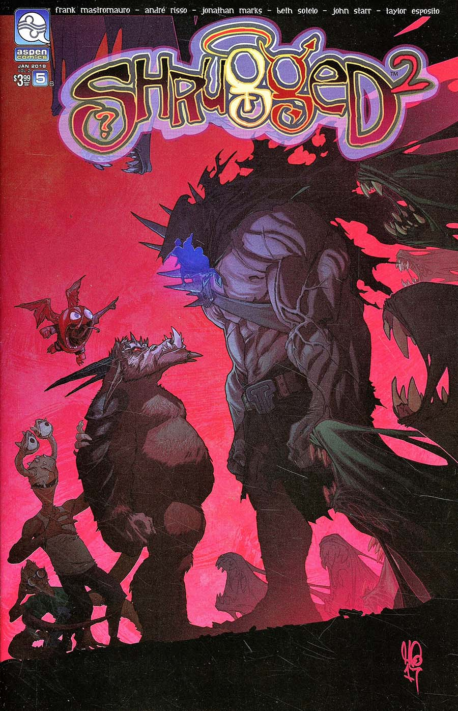 Shrugged Vol 2 #5 Cover B Micah Gunnell