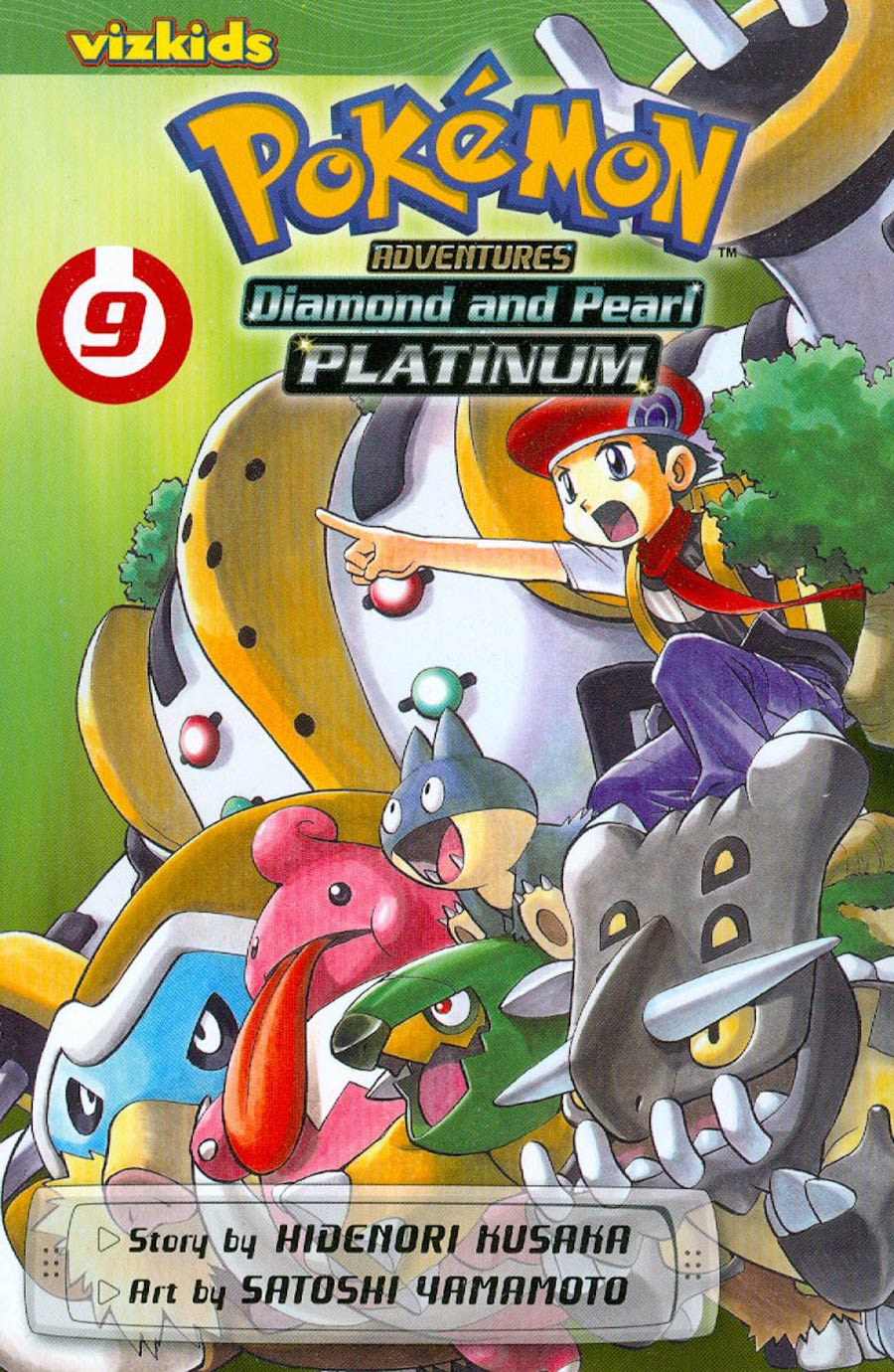 Pokemon Adventures Diamond And Pearl Platinum Vol 9 GN