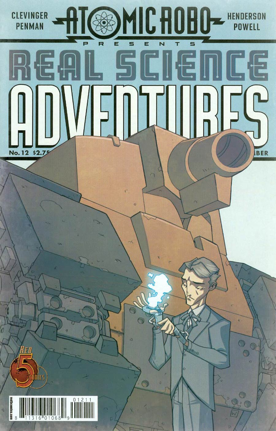 Atomic Robo Real Science Adventures #12