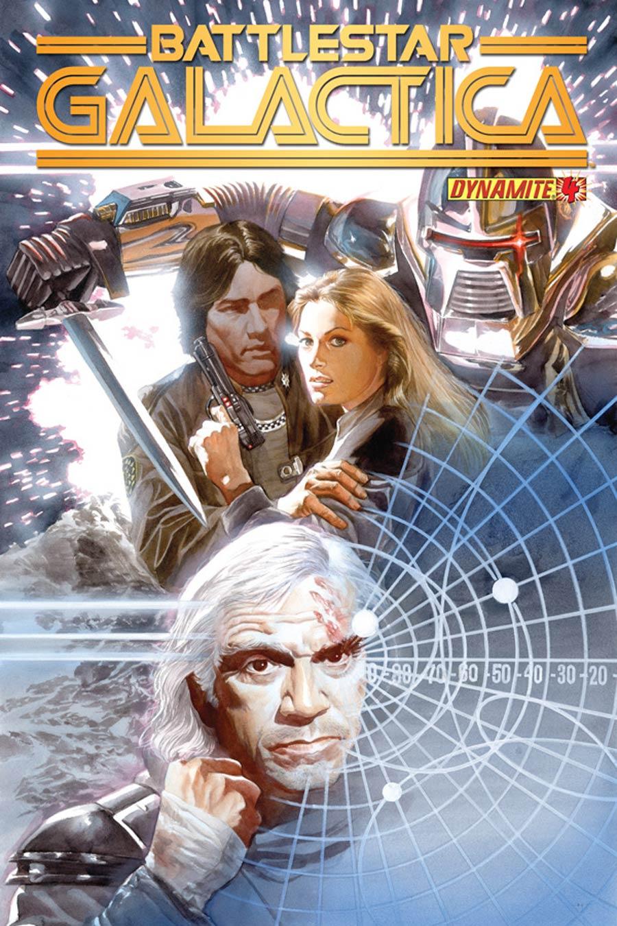 Battlestar Galactica Vol 5 #4 Cover A Regular Alex Ross Cover
