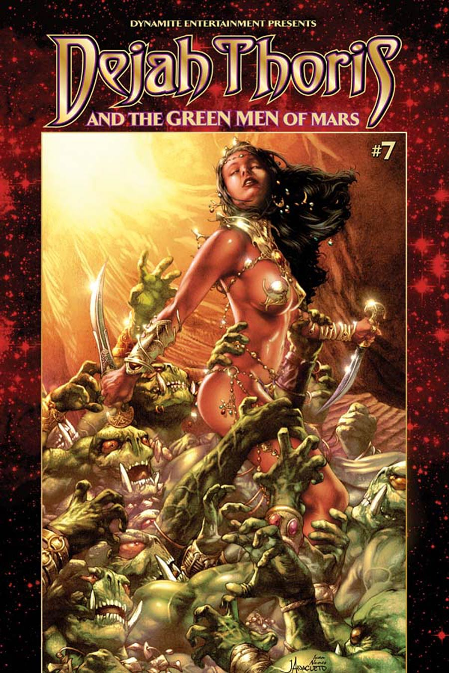 Dejah Thoris And The Green Men Of Mars #7 Cover A Regular Jay Anacleto Cover