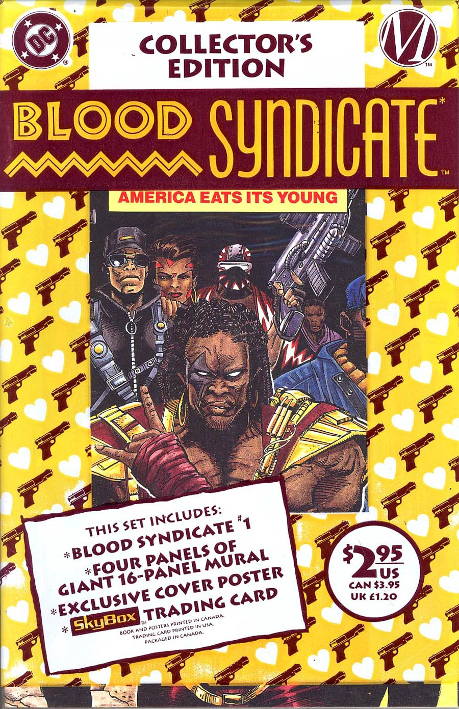 Blood Syndicate #1 Cover A Collectors Edition With Polybag