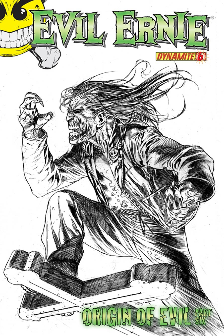 Evil Ernie Vol 3 #6 Cover H Incentive Ardian Syaf Pencil Cover