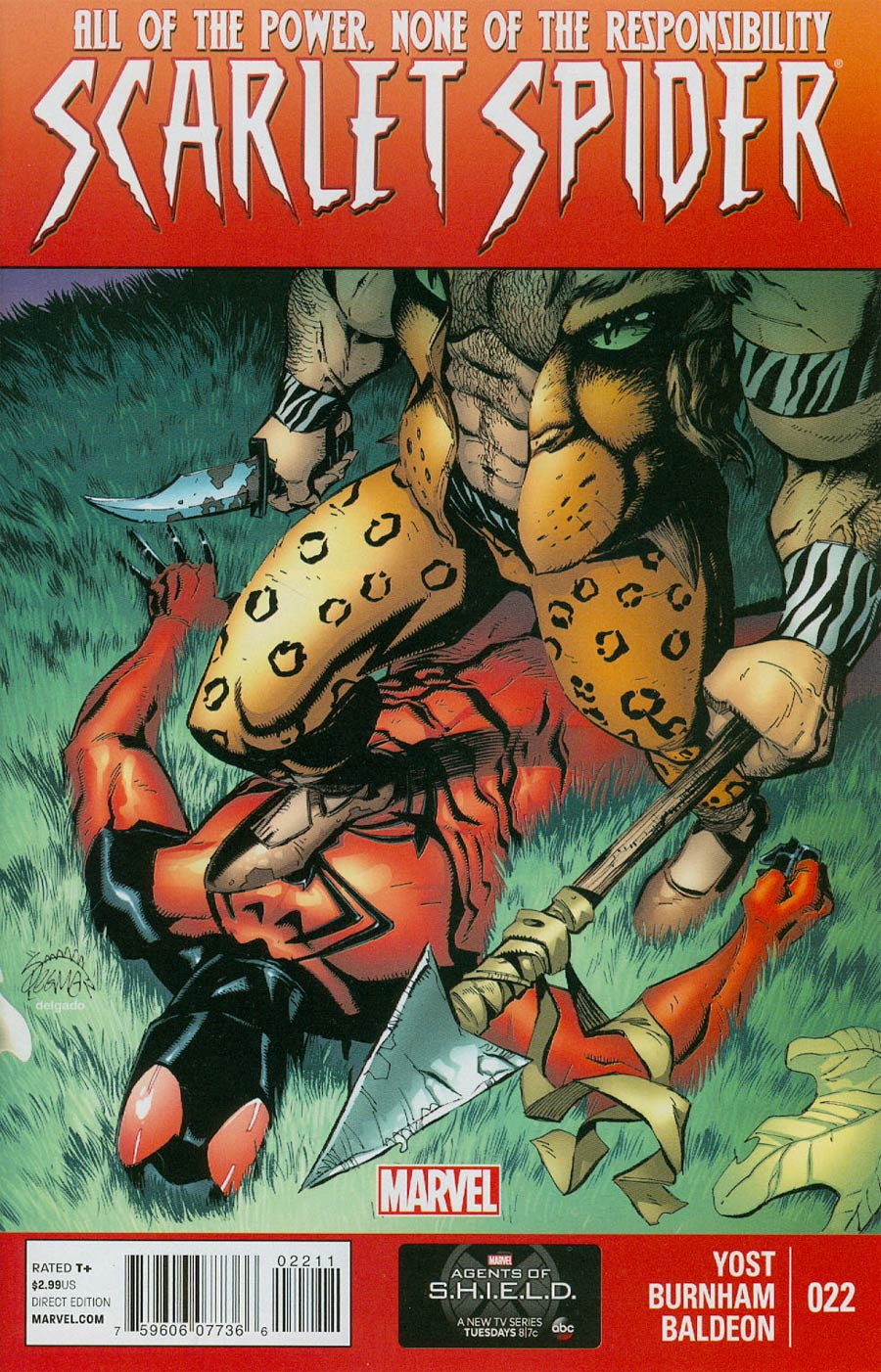 Scarlet Spider Vol 2 #22