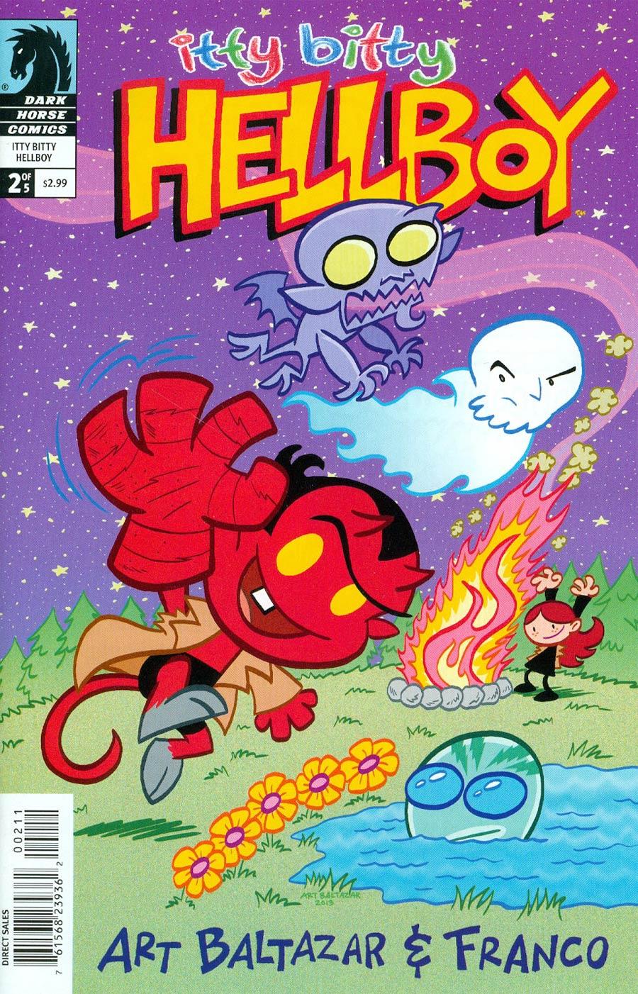 Itty Bitty Hellboy #2 Cover A Art Baltazar