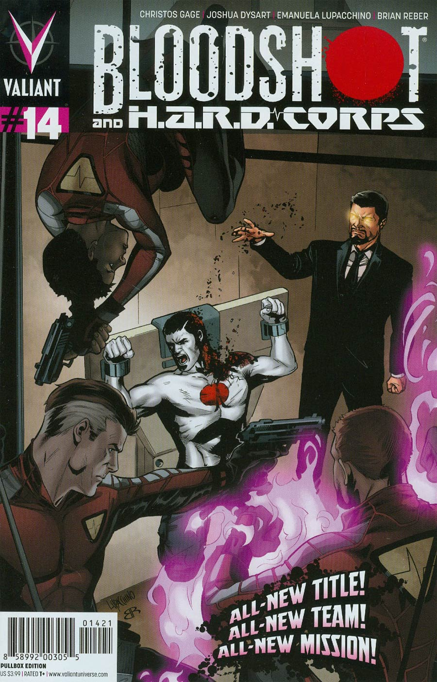 Bloodshot And H.A.R.D. Corps #14 Cover B Variant Emanuela Lupacchino Pullbox Cover