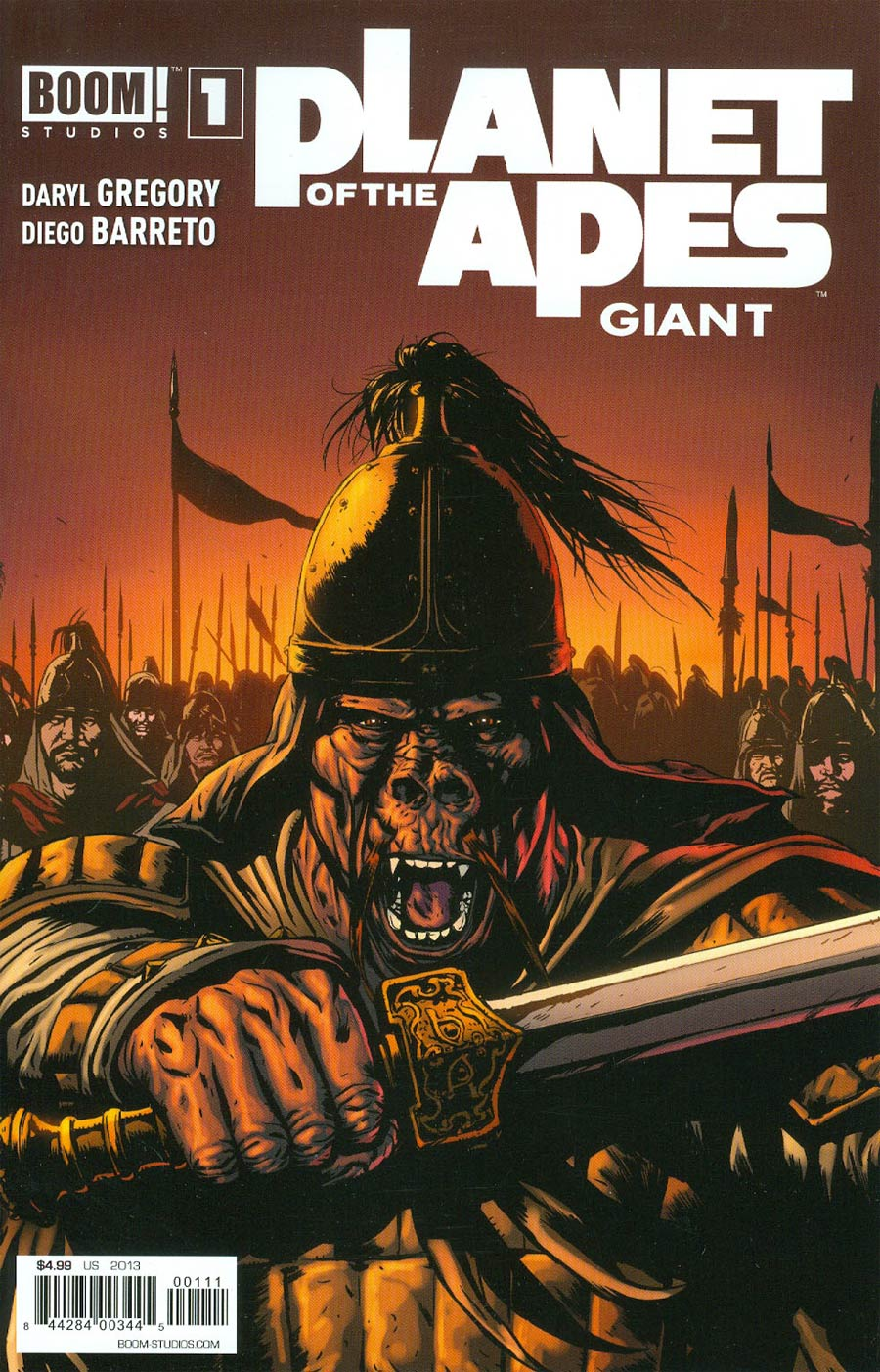 Planet Of The Apes Giant #1