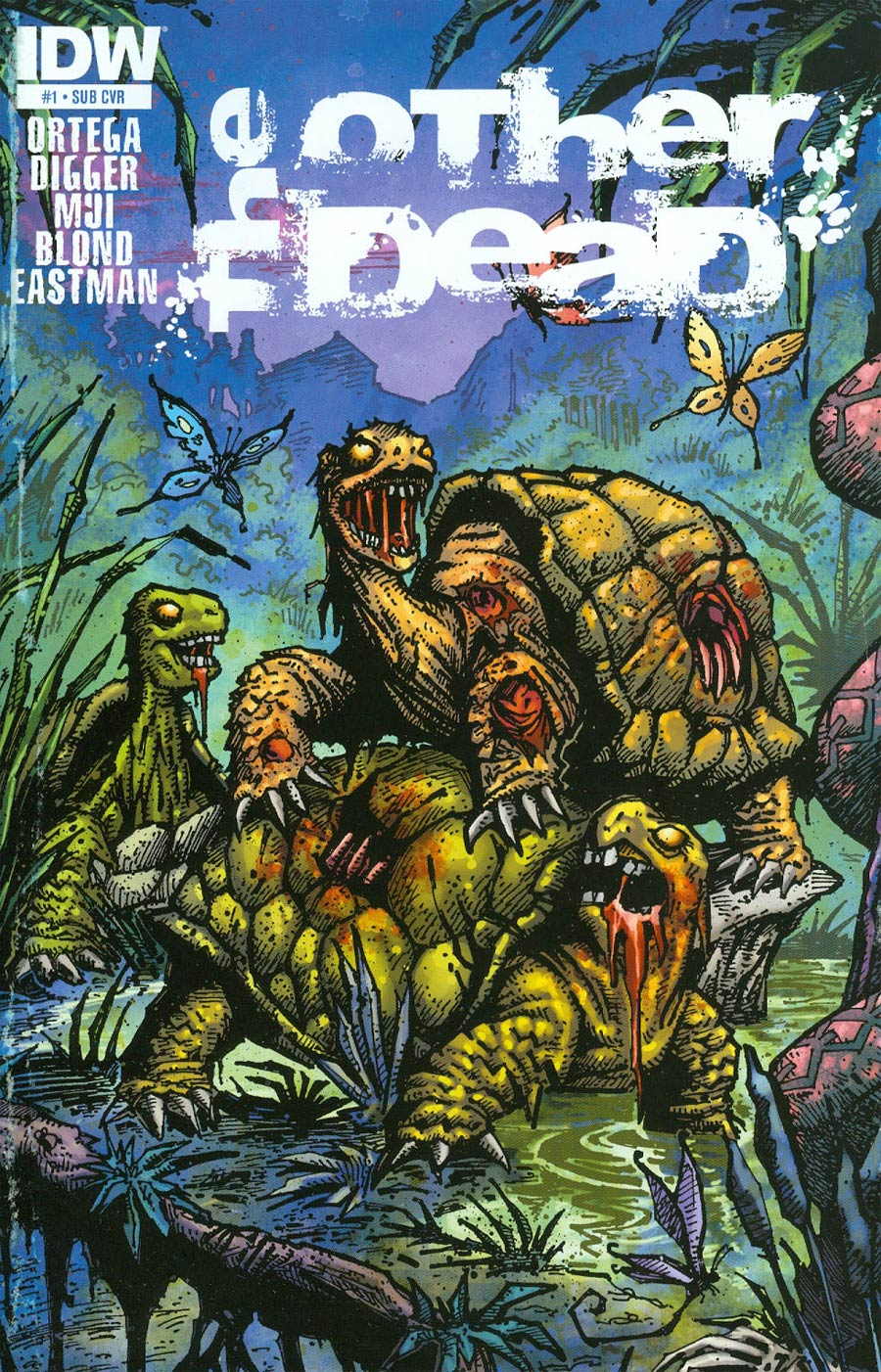 Other Dead #1 Cover B Variant Kevin Eastman Subscription Cover