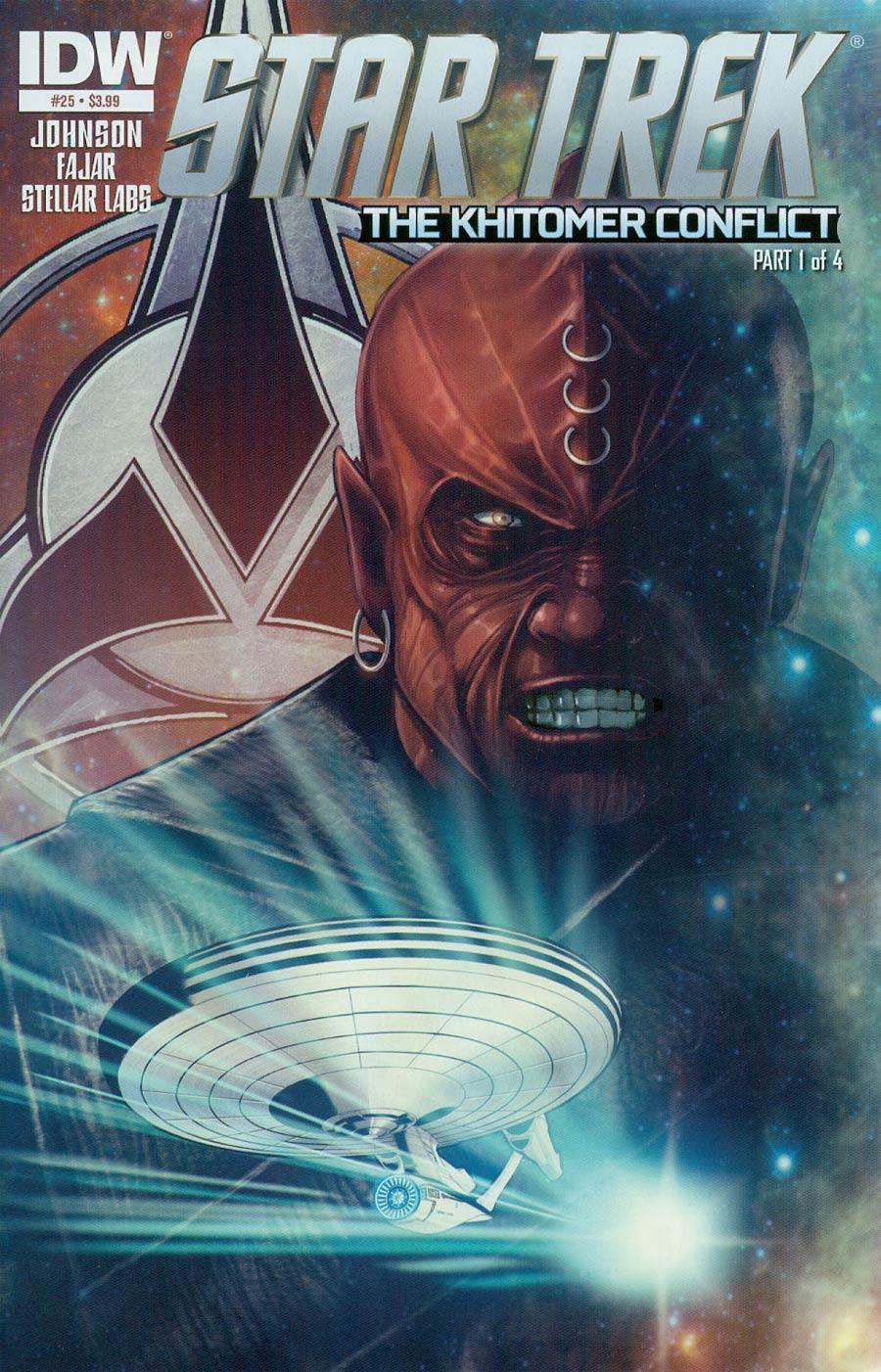 Star Trek (IDW) #25 Cover A Regular Erfan Fajar Cover