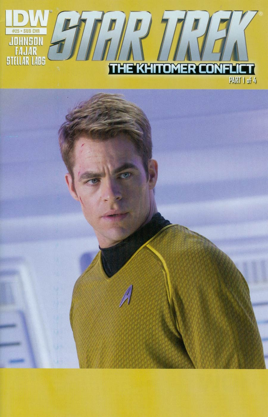 Star Trek (IDW) #25 Cover B Variant Photo Subscription Cover