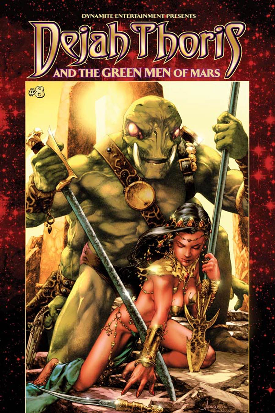 Dejah Thoris And The Green Men Of Mars #8 Cover A Regular Jay Anacleto Cover