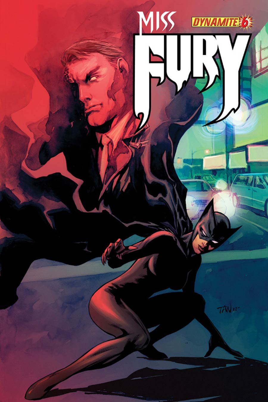 Miss Fury Vol 2 #6 Cover A Regular Billy Tan Cover