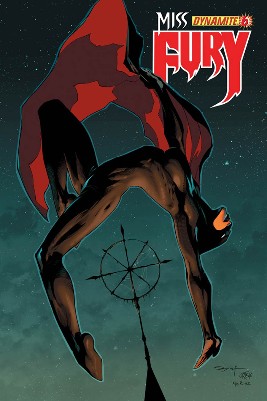 Miss Fury Vol 2 #6 Cover B Variant Ardian Syaf Cover
