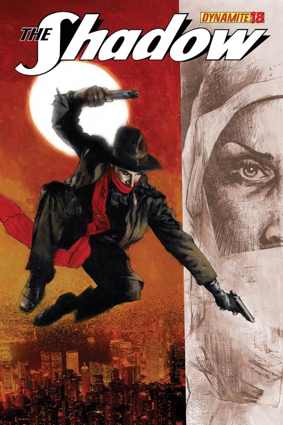 Shadow Vol 5 #18 Cover B Variant Jason Shawn Alexander Cover
