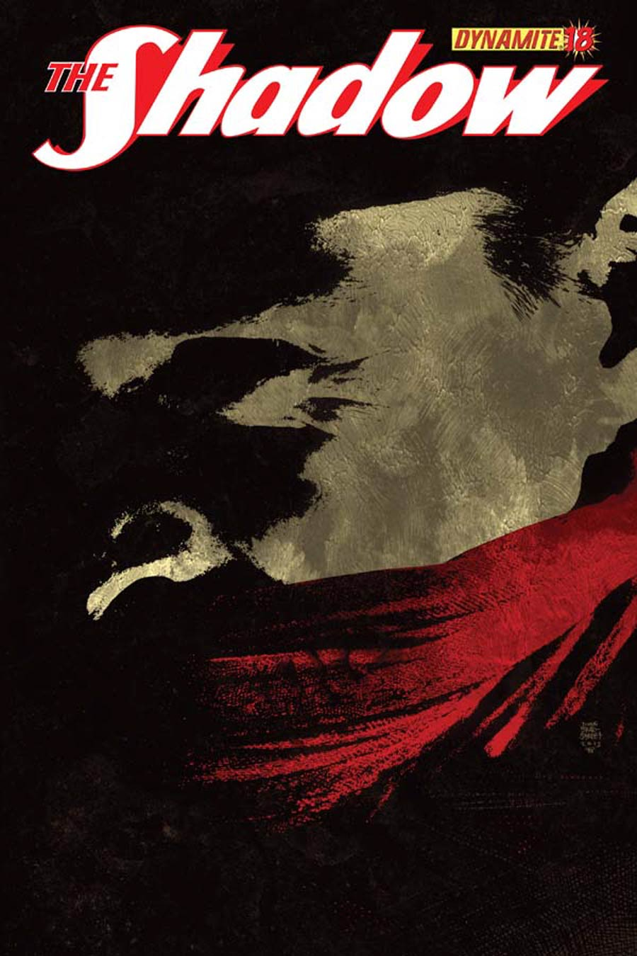 Shadow Vol 5 #18 Cover C Variant Tim Bradstreet Subscription Cover