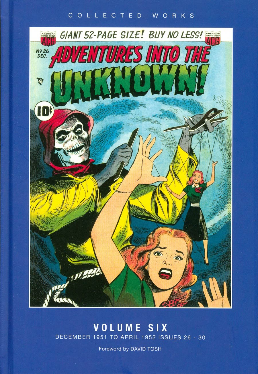 ACG Collected Works Adventures Into The Unknown Vol 6 HC