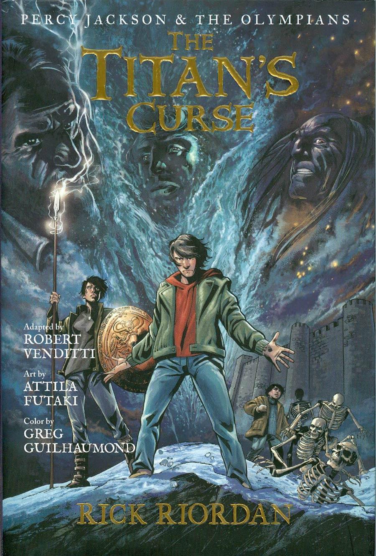 Percy Jackson The Olympians Graphic Novel Vol 3 Titans Curse Hc Midtown Comics