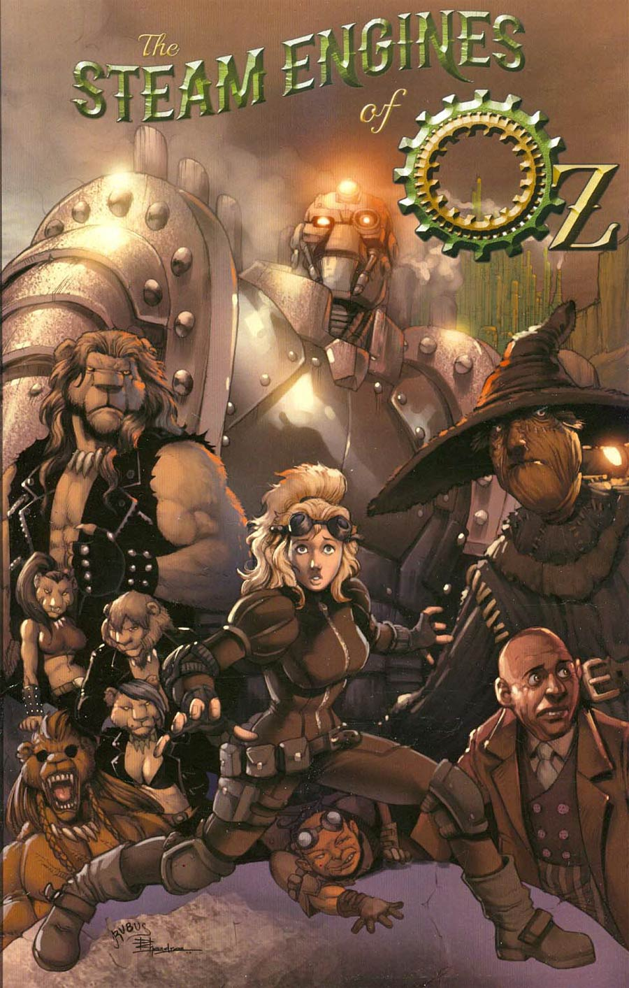Steam Engines Of Oz Vol 1 TP
