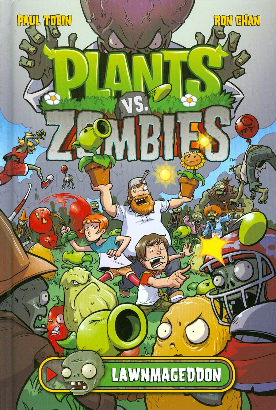 Plants vs Zombies Lawnmageddon HC