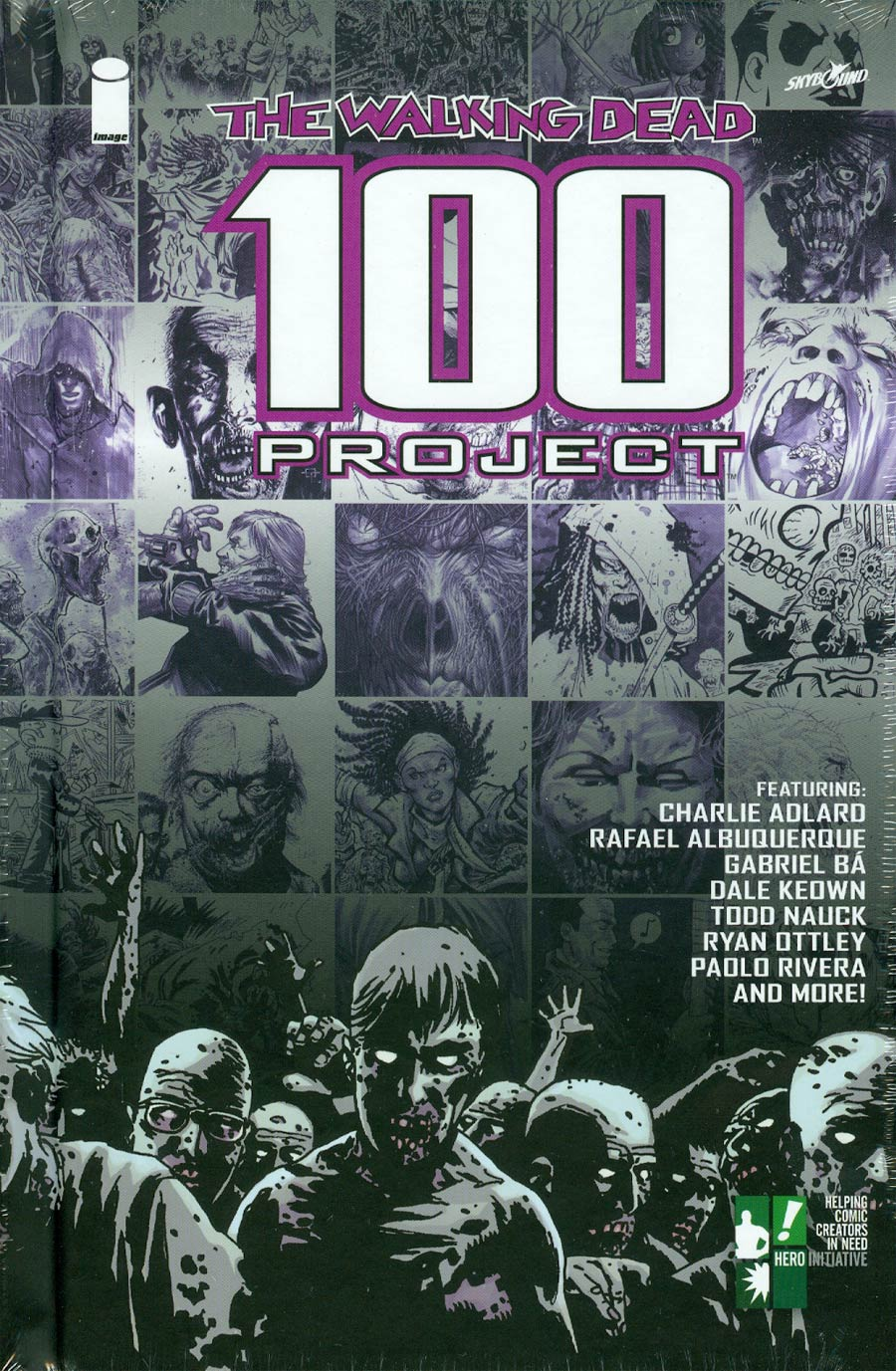 Walking Dead 100 Project Limited Edition HC